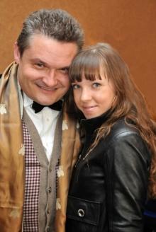 А.Васильев и журналист Е.Витулева