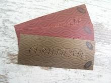 Подарочные сертификаты от органического салона красоты Studio Professional