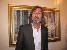 Никас Сафронов в Саратове. Открытие выставки