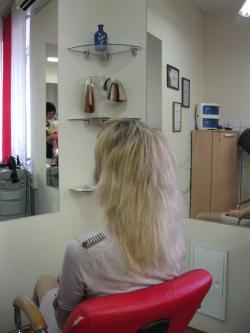 наращивание волос адора