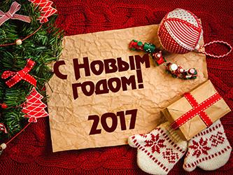 C Новым годом 2017!