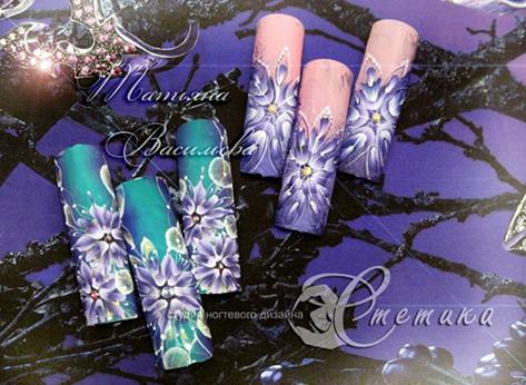 Курсу ногтевого дизайна владивосток