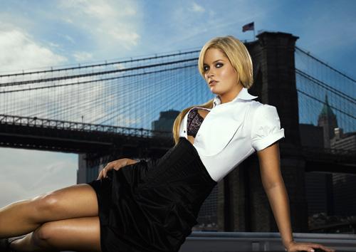 """10 сезон: фотосессия - реклама нижнего белья,  """"Топ-модель по-американски """" ."""