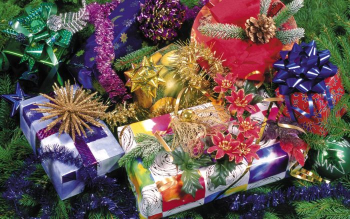 подарки новый год 2011