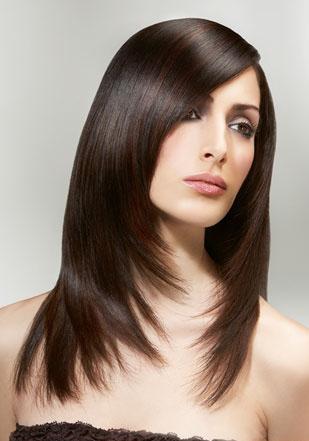 Фотография 4. Стрижки на длинные волосы.