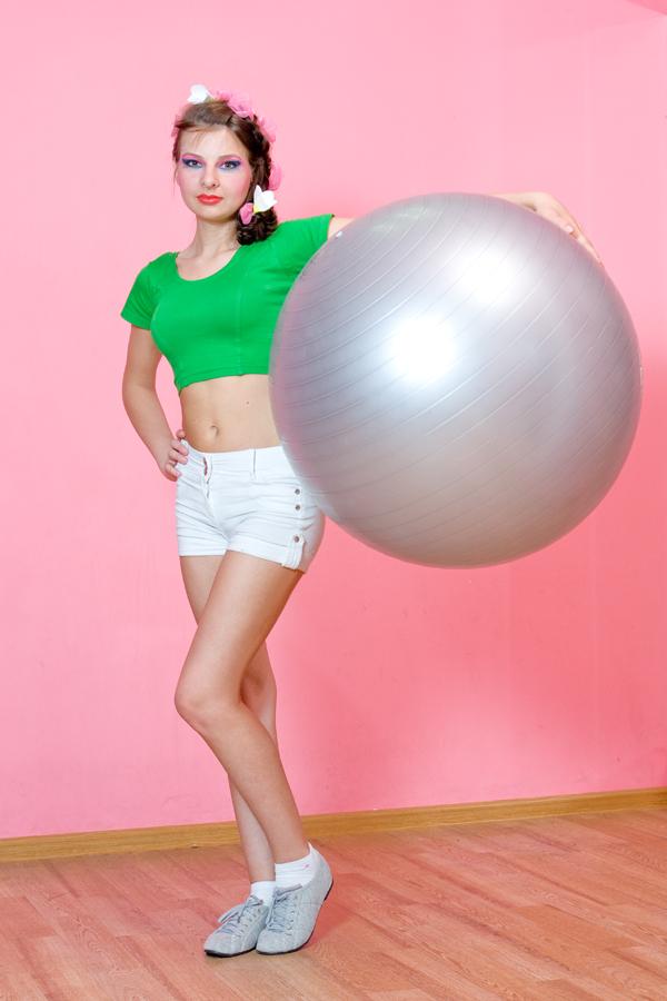 Вы просматриваете изображения у материала: Фотосет: Lady Fitness, фотограф Александр Новиков