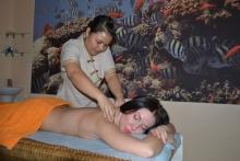 Настоящий тайский массаж!