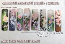 Расписание курсов в студии ногтевого дизайна Эстетика - ИЮНЬ