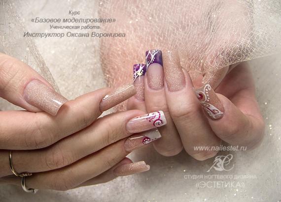 курсы по моделированию ногтей арочное моделирование ногтейобучение по наращиванию и дизайну ногтей